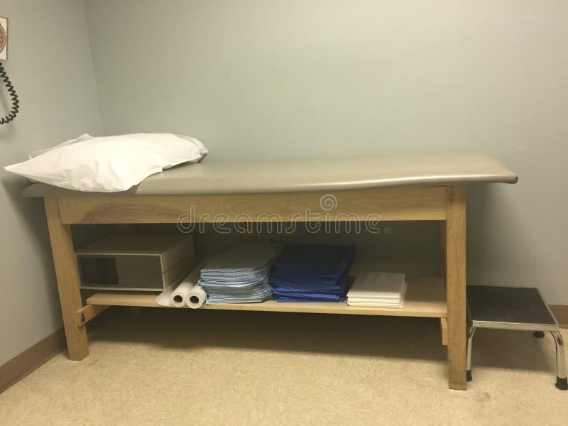 Clínica do hospital e sala do diagnóstico médico fotografia de stock