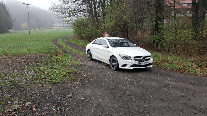 CLA de Mercedes images libres de droits