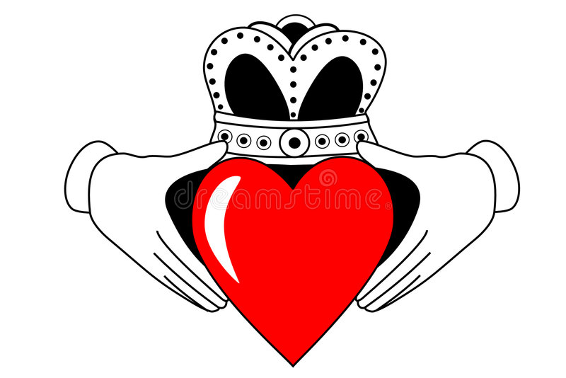 Claddagh illustration libre de droits