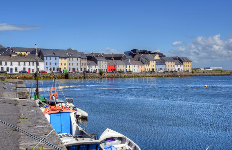Claddagh Galway i Galway, Irland arkivfoton