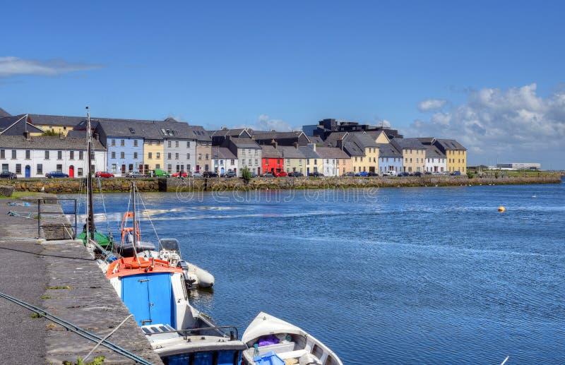 Claddagh Galway w Galway, Irlandia zdjęcia stock