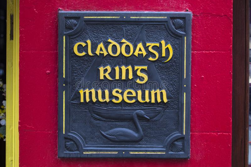 Claddagh Ring Museum in Galway stock foto