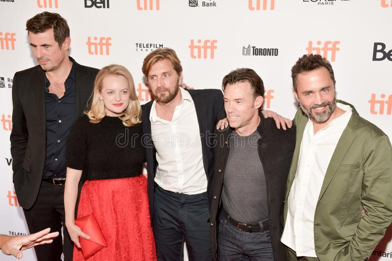 Premiere of `The Square at Toronto International Film festival 2017. Claes Bang, Elisabeth Moss, Ruben Ostlund, Terry Notary and Erik Hemmendorff attend `The stock images