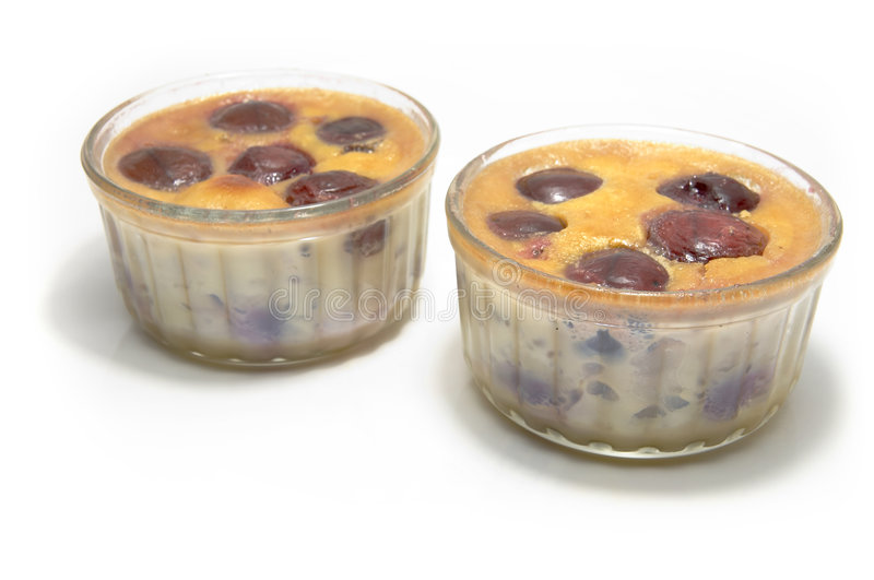 Clafoutis royalty free stock photography