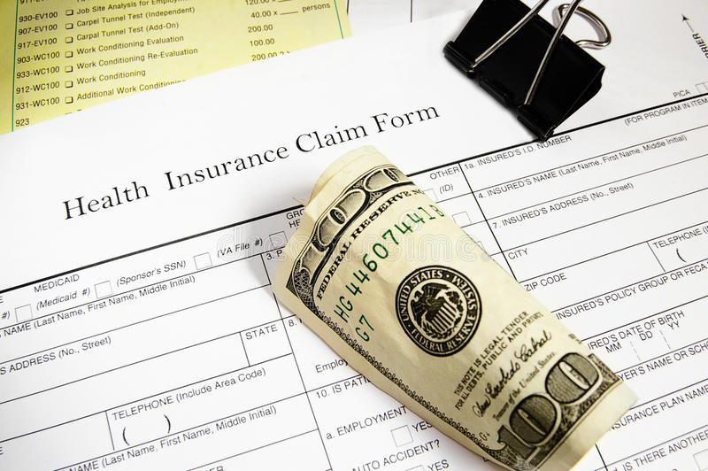 Download Claim form and cash stock image. Image of paper, expense - 25747367