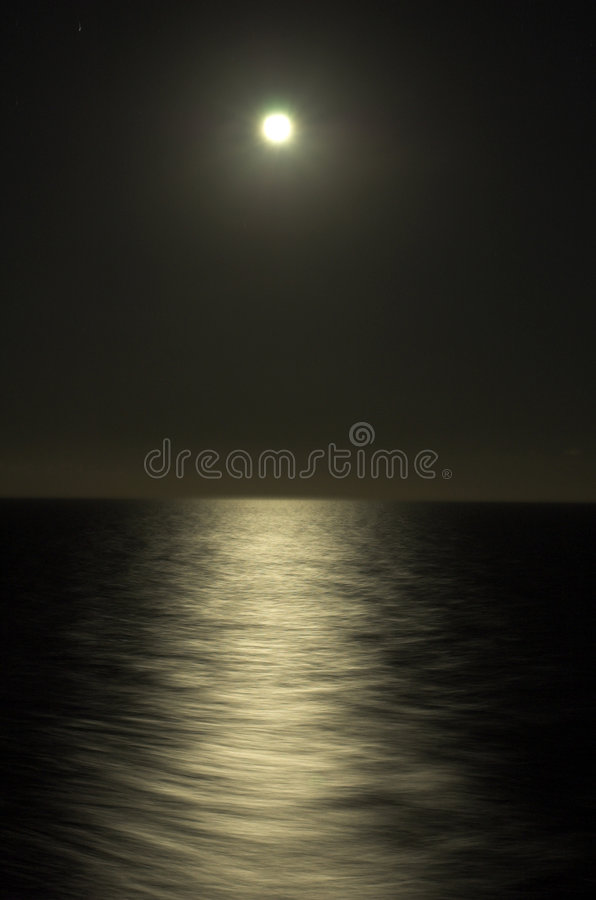 clair de lune photo stock