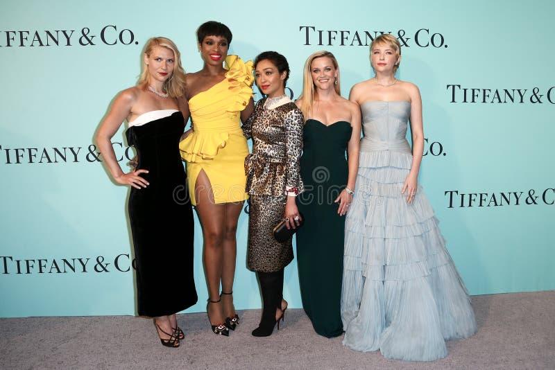 Claire Danes, Jennifer Hudson Ruth Negga, Reese Witherspoon, Haley Bennett images libres de droits