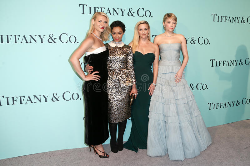 Claire Danes, Ruth Negga, Reese Witherspoon, Haley Bennett image libre de droits