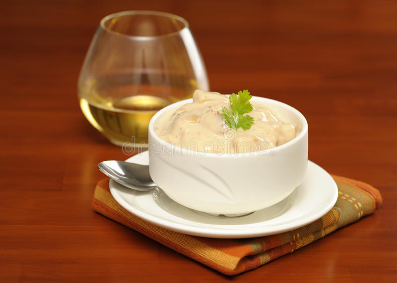 Chowder Royalty Free Stock Photography