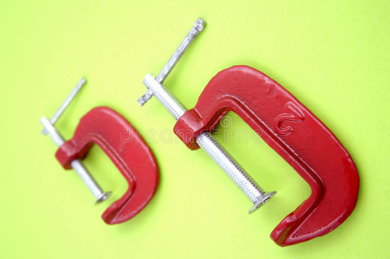 Download Clamps stock photo. Image of tighten, tools, closeup - 20554736