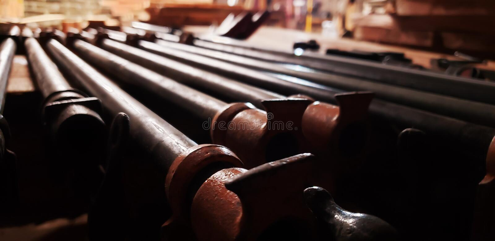 Clamps royalty free stock photo