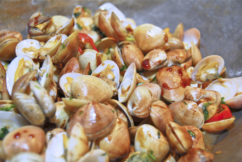 Download Clams stock image. Image of seashell, tasty, freshwater - 16805699