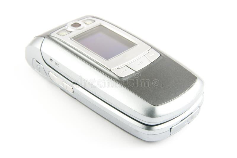 clamshell σύγχρονο τηλέφωνο στοκ εικόνες με δικαίωμα ελεύθερης χρήσης