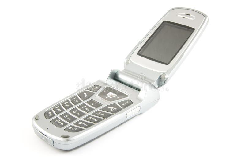 clamshell σύγχρονο τηλέφωνο στοκ φωτογραφίες