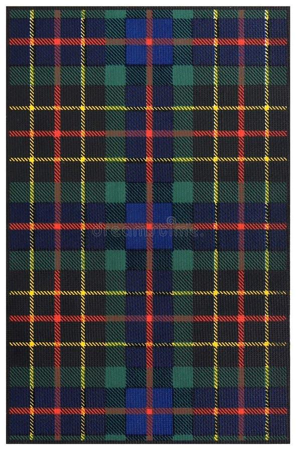 Clan Brodie Tartan stock image
