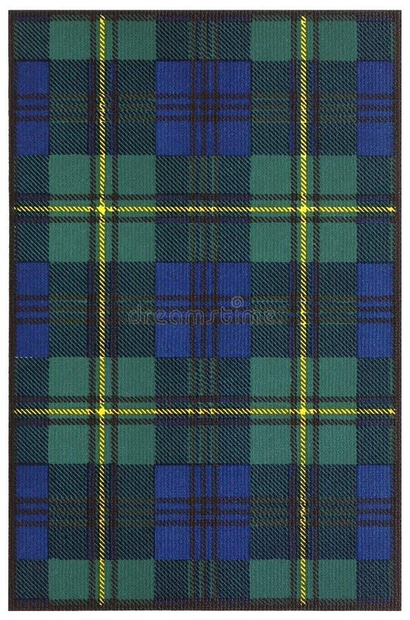 Clan Johnstone Tartan stock images