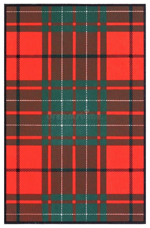 Clan Tartan royalty free stock photos