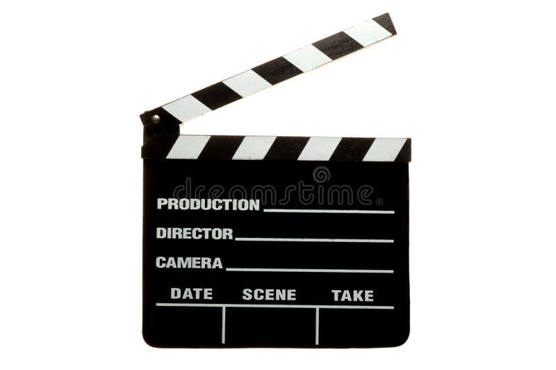Clap Board. Movie Clap Board stock photo