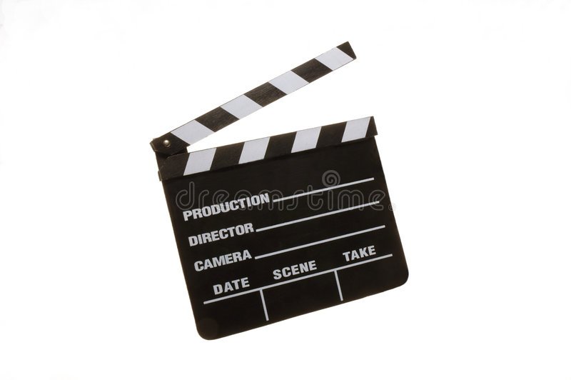 Clapperboard royalty free stock images
