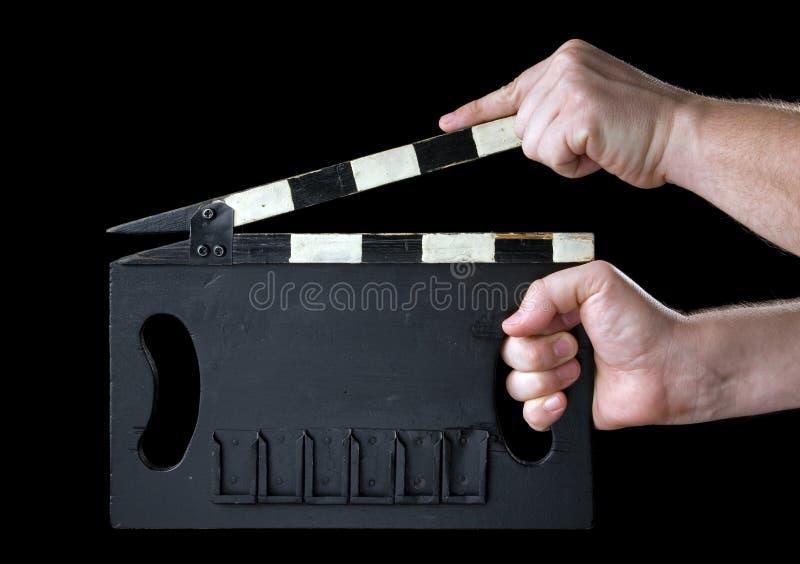 clapboard κινηματογράφων στοκ εικόνα με δικαίωμα ελεύθερης χρήσης