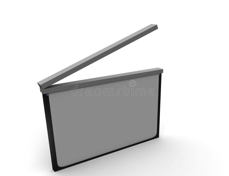 Download Clapboard Royalty Free Stock Photography - Image: 12866607