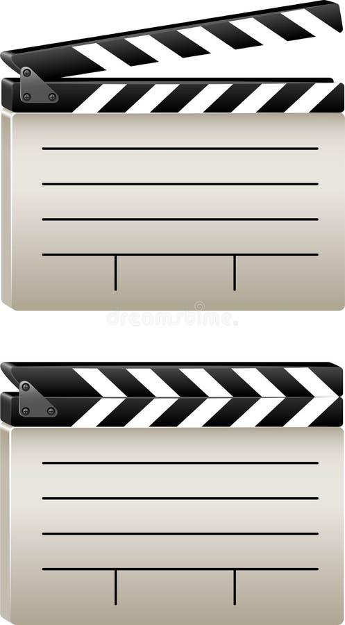 clapboard απεικόνιση αποθεμάτων