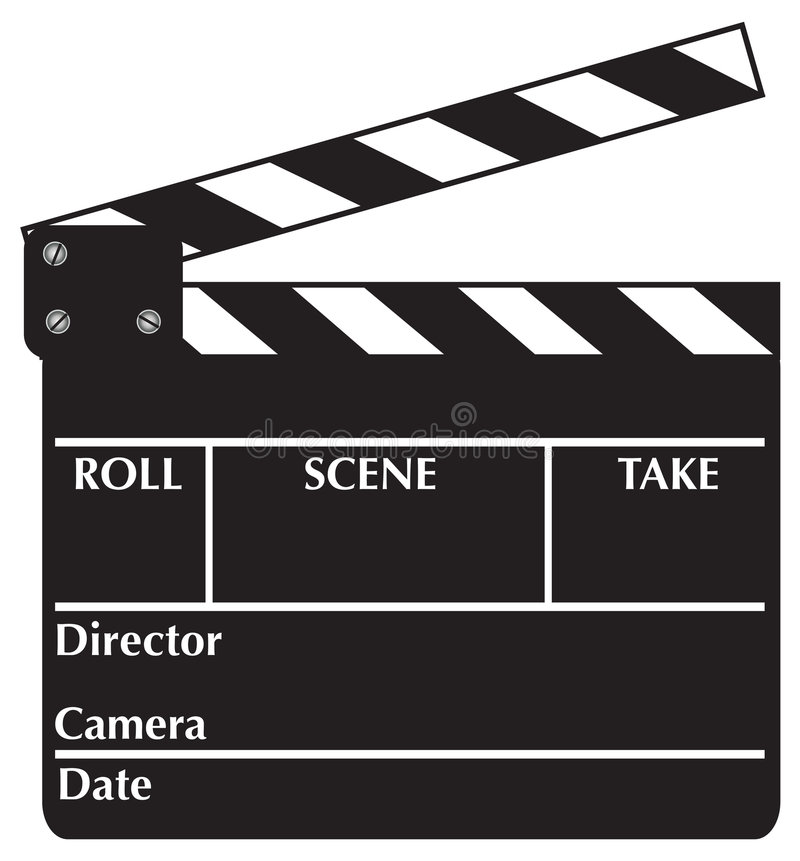 Download Clapboard Royalty Free Stock Photo - Image: 2968155