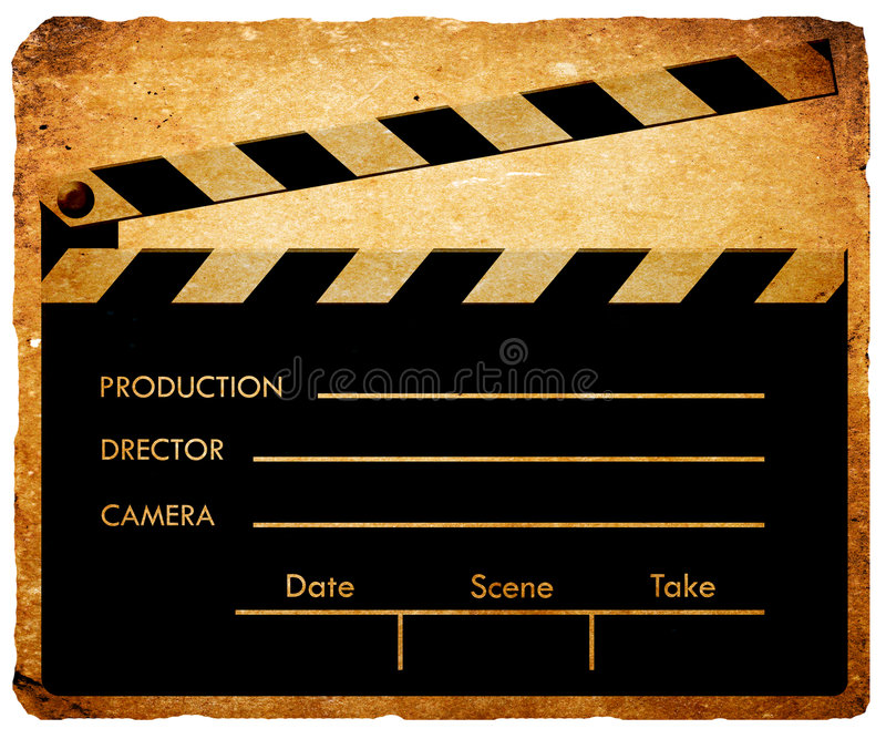 clapboard vektor illustrationer
