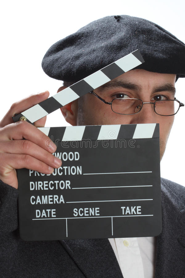 clapboard film obraz stock