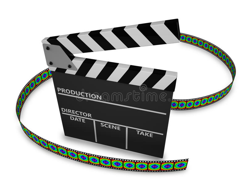Download Clapboard Royalty Free Stock Photos - Image: 33392018