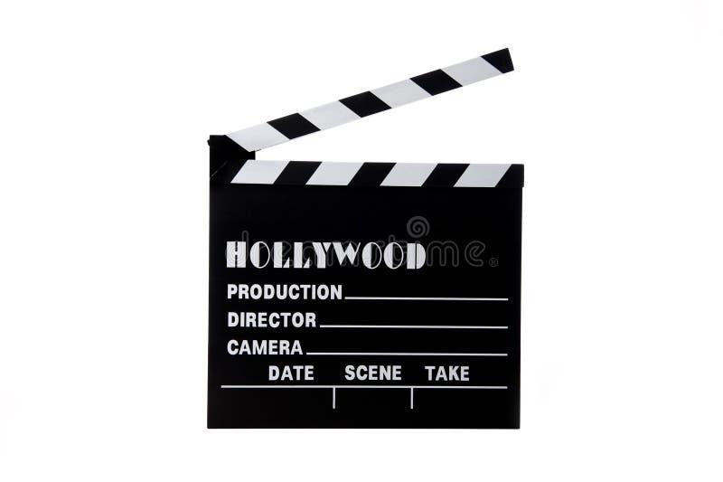clapboard hollywood κινηματογράφος στοκ εικόνες