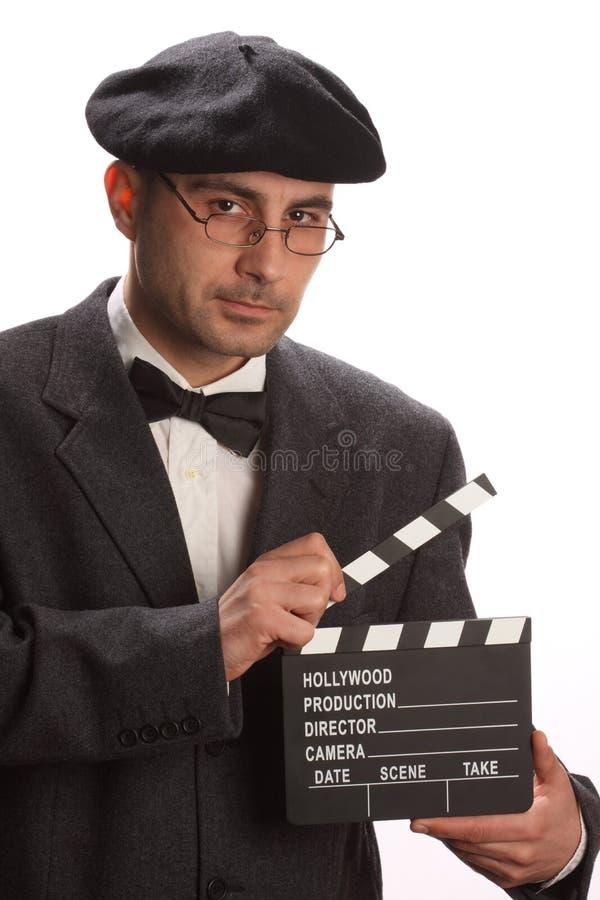 clapboardfilm royaltyfri fotografi