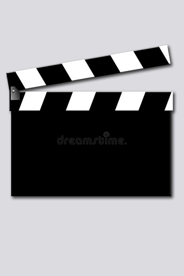 Clapet vide de film illustration libre de droits