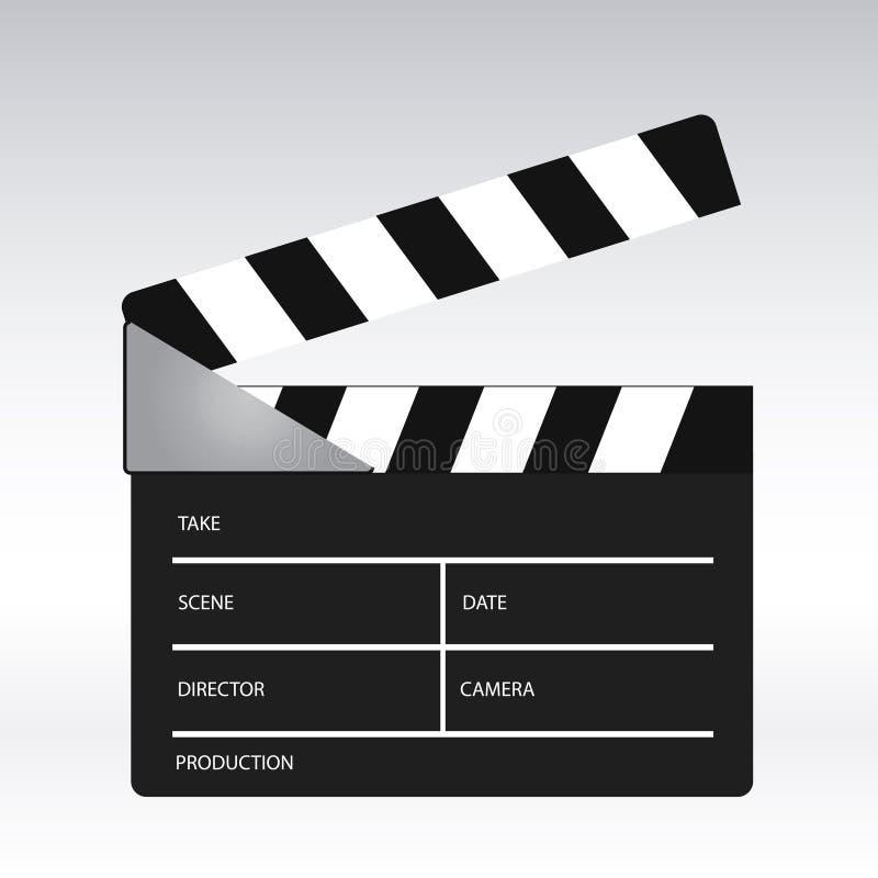 clapper κινηματογράφος ελεύθερη απεικόνιση δικαιώματος