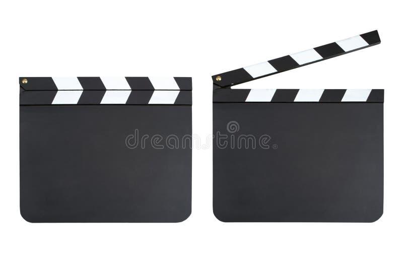 Clapper πίνακες στοκ εικόνα