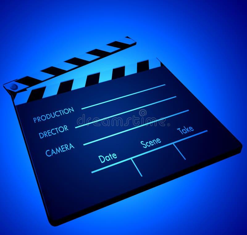 Clapper ταινιών στοκ φωτογραφίες με δικαίωμα ελεύθερης χρήσης
