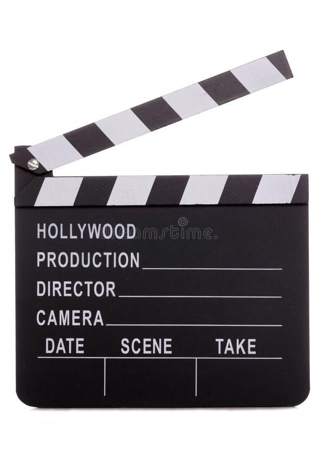 clapper χαρτονιών κινηματογράφο& στοκ φωτογραφία με δικαίωμα ελεύθερης χρήσης