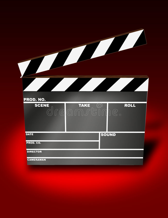 Free Clapper Board Stock Photography - 786542