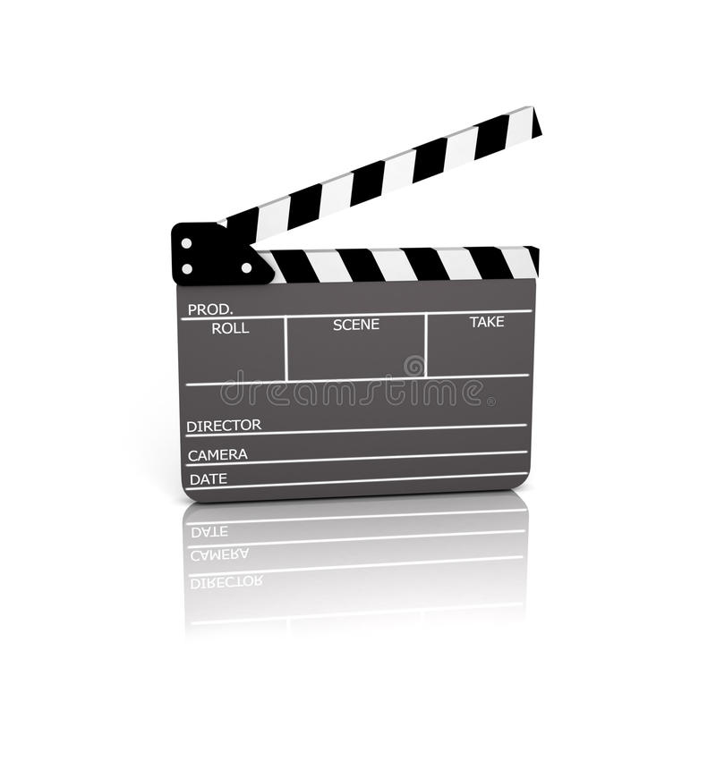 Clapperboard royalty illustrazione gratis