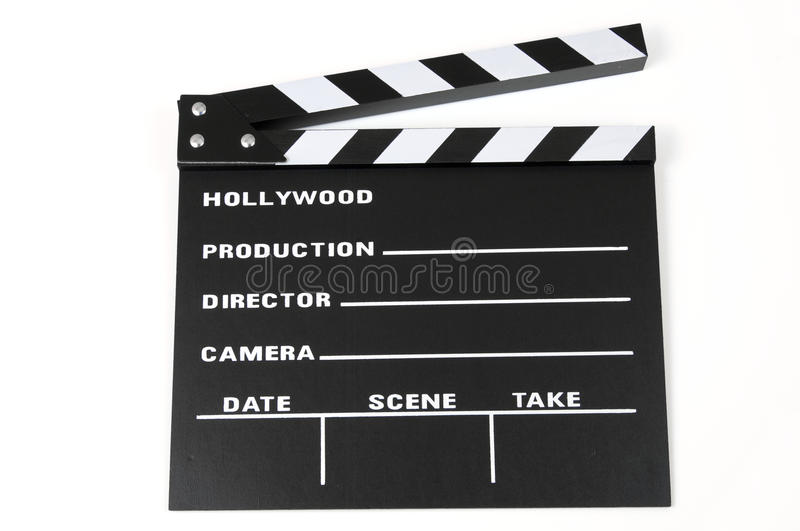 Download Clapperboard stock photo. Image of black, hollywood, equipment - 25573628