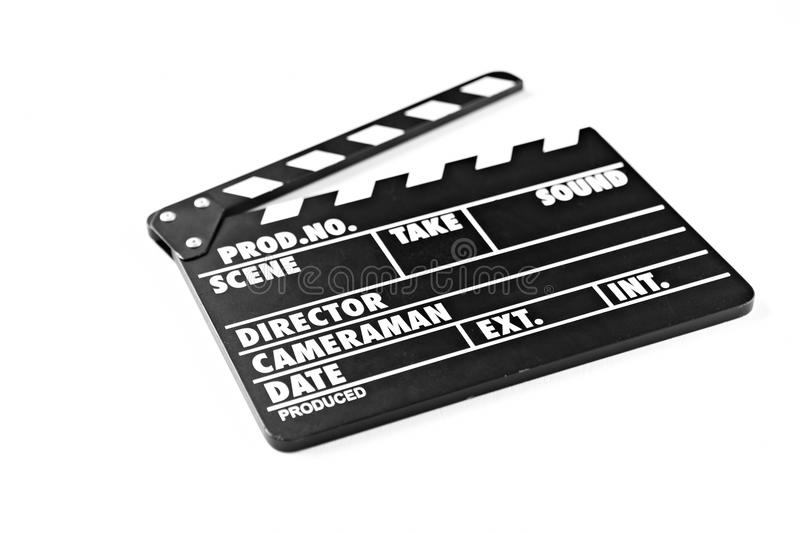 Download Clapperboard stock image. Image of equipment, open, background - 26069913
