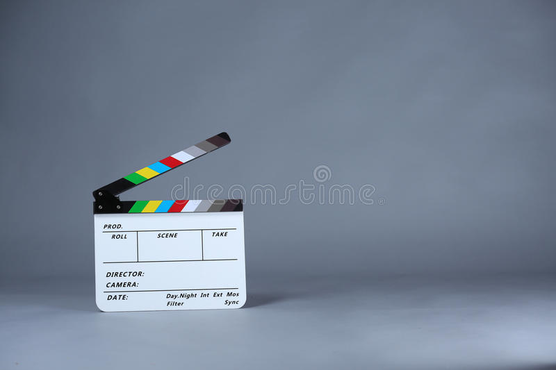 clapperboard obraz royalty free