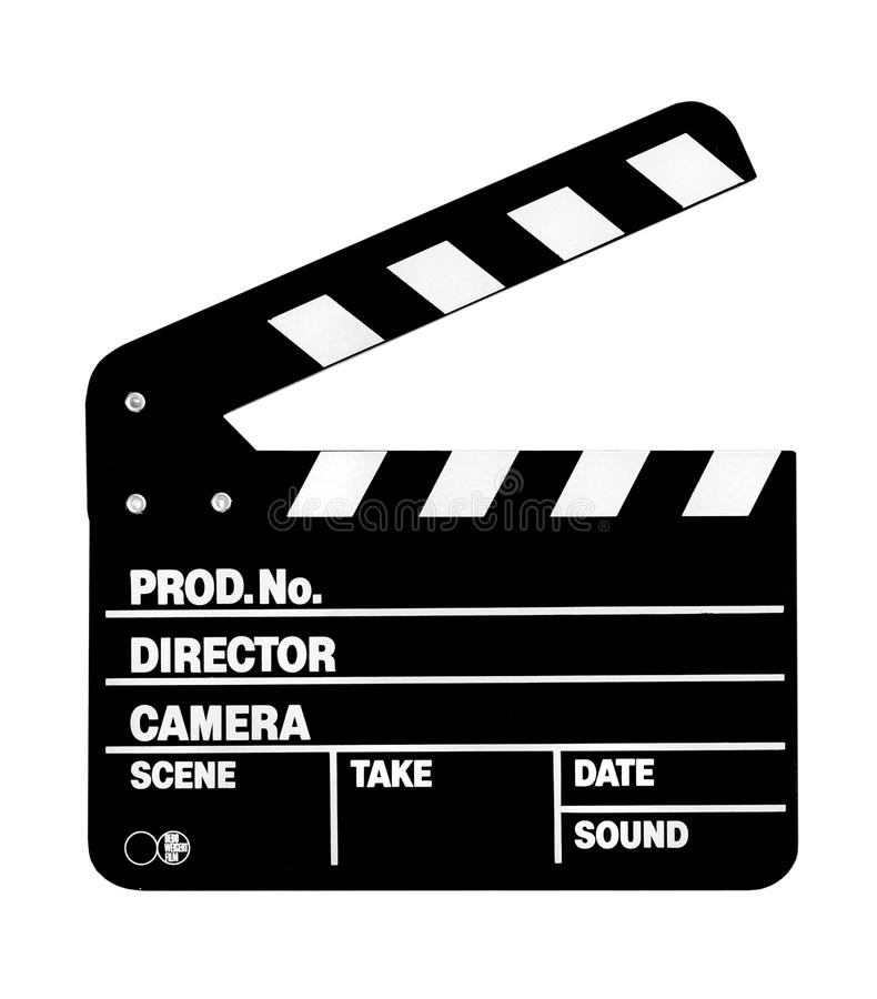 Clapperboard, clapper stock images