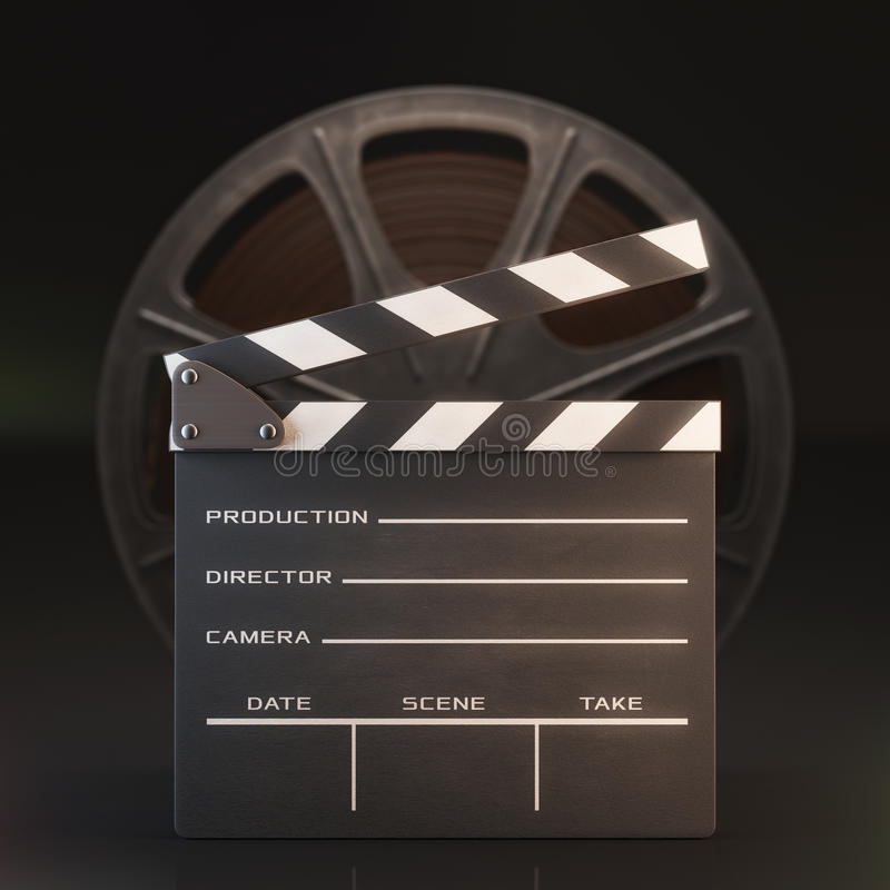 Download Clapperboard stock photo. Image of video, marker, filmmaking - 42119418