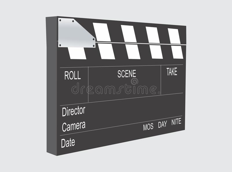 CLAPPERBOARD royalty free stock photos