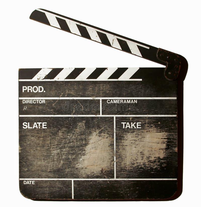 clapperfilm arkivbilder