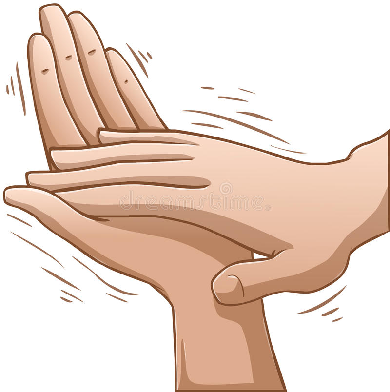 Clapping Hands vector illustration