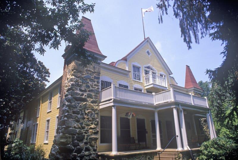 Clara Barton House, Glen Echo, Maryland royalty-vrije stock foto's