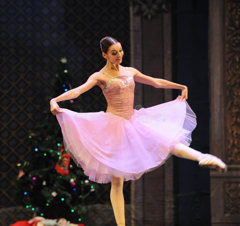 Clara is de meisje-Balletnotekraker royalty-vrije stock afbeeldingen