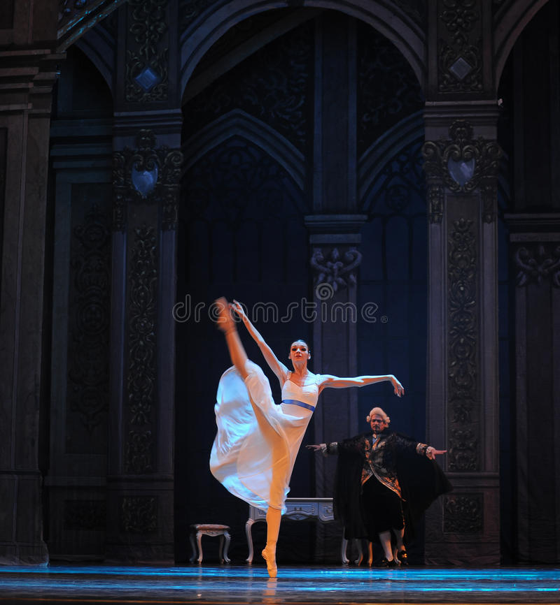 Clara in de sprookjesland-Balletnotekraker royalty-vrije stock fotografie